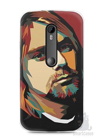 Capa Moto G3 Kurt Cobain