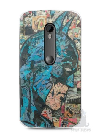 Capa Moto G3 Batman Comic Books #2