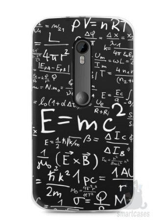 Capa Moto G3 Teoria da Relatividade Einstein