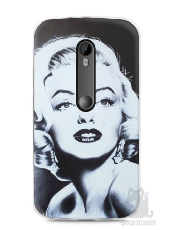 Capa Moto G3 Marilyn Monroe #4