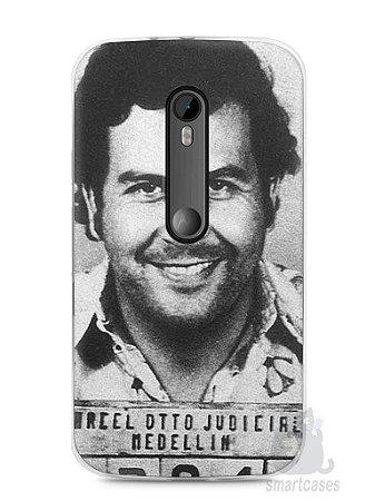 Capa Moto G3 Pablo Escobar