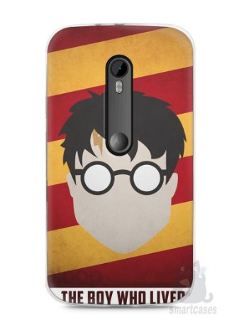 Capa Moto G3 Harry Potter #2