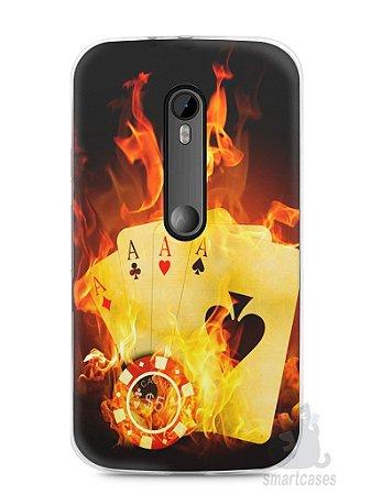 Capa Moto G3 Poker #1