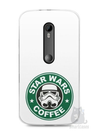 Capa Moto G3 Star Wars Coffee