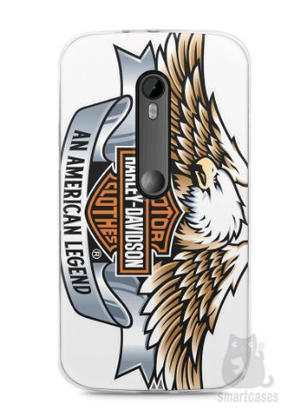 Capa Moto G3 Harley Davidson