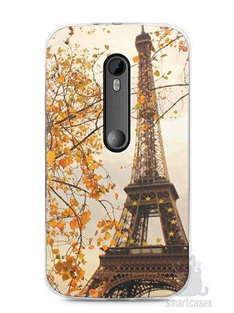 Capa Moto G3 Torre Eiffel #1