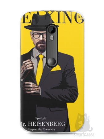 Capa Moto G3 Breaking Bad #2