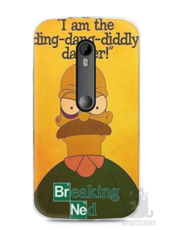 Capa Moto G3 Homer Simpson Breaking Bad