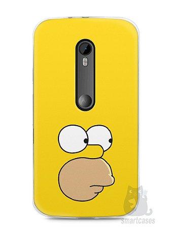 Capa Moto G3 Homer Simpson Face