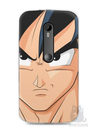 Capa Moto G3 Dragon Ball Z Goku