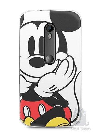 Capa Moto G3 Mickey Mouse #2