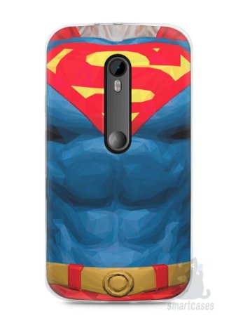 Capa Moto G3 Super Homem #2
