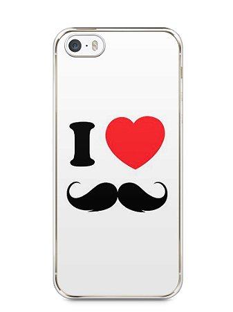 Capa Iphone 5/S I Love Bigode #1
