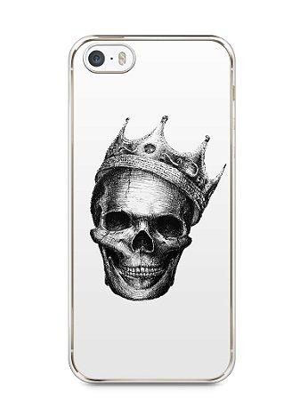 Capa Iphone 5/S Caveira #6