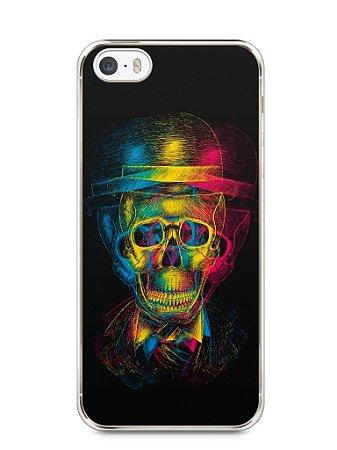 Capa Iphone 5/S Caveira #7
