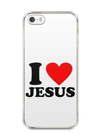 Capa Iphone 5/S I Love Jesus