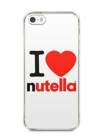 Capa Iphone 5/S I Love Nutella