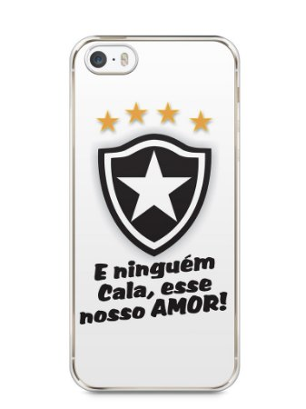 Capa Iphone 5/S Time Botafogo #3