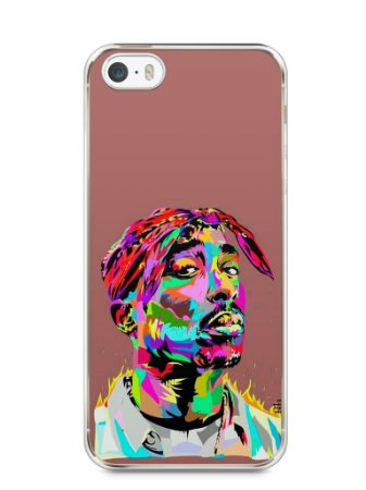 Capa Iphone 5/S Tupac Shakur #4