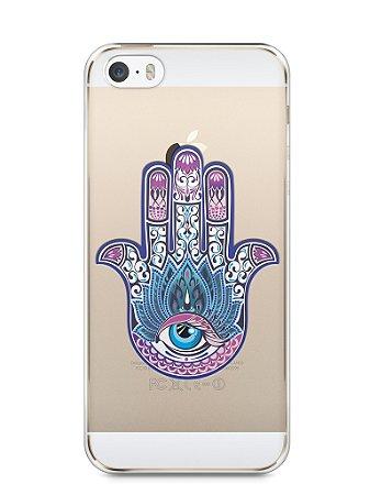Capa Iphone 5/S Mão de Hamsá #1