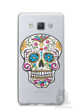 Capa Samsung A5 Caveira Mexicana