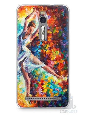 Capa Zenfone 2 Bailarina Pintura