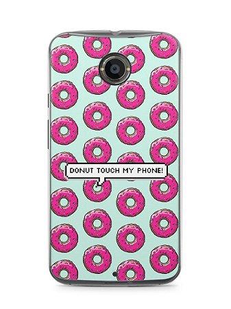 Capa Moto X2 Donut Touch My Phone