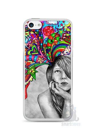 Capa Iphone 5C Menina Sonhadora