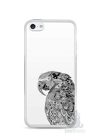 Capa Iphone 5C Arara Artística