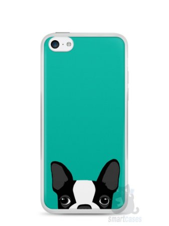 Capa Iphone 5C Cachorro Bulldog Francês #3