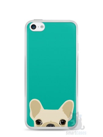 Capa Iphone 5C Cachorro Bulldog Francês #2