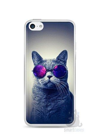 Capa Iphone 5C Gato Galáxia #2