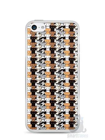 Capa Iphone 5C Gatos
