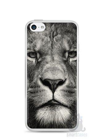 Capa Iphone 5C Leão Face