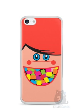 Capa Iphone 5C Chicletes Mini