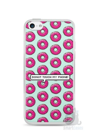 Capa Iphone 5C Donut Touch My Phone