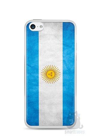 Capa Iphone 5C Bandeira da Argentina