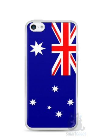 Capa Iphone 5C Bandeira da Austrália