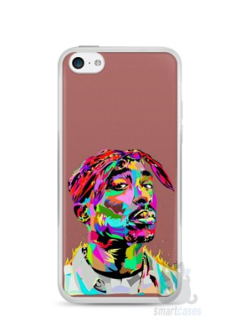 Capa Iphone 5C Tupac Shakur #4