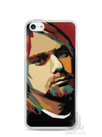 Capa Iphone 5C Kurt Cobain