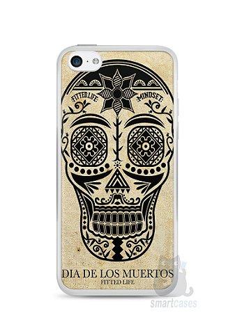 Capa Iphone 5C Dia dos Mortos #2