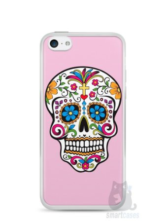 Capa Iphone 5C Caveira #4