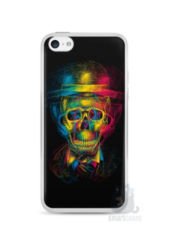 Capa Iphone 5C Caveira #7