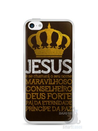 Capa Iphone 5C Jesus #4