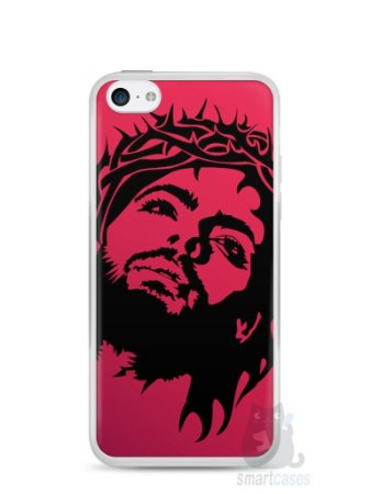 Capa Iphone 5C Jesus #7