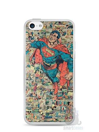 Capa Iphone 5C Super Homem Comic Books