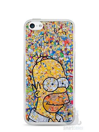 Capa Iphone 5C Homer Simpson Comic Books