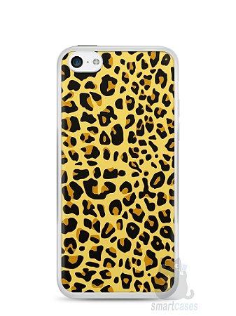 Capa Iphone 5C Estampa Onça #5
