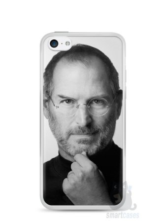 Capa Iphone 5C Steve Jobs