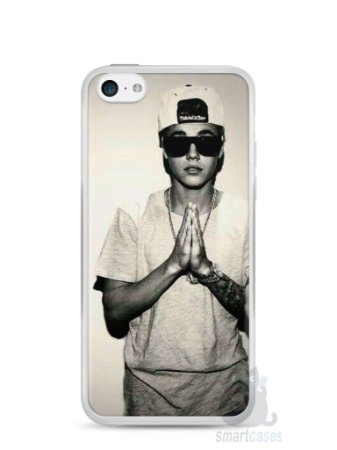 Capa Iphone 5C Justin Bieber